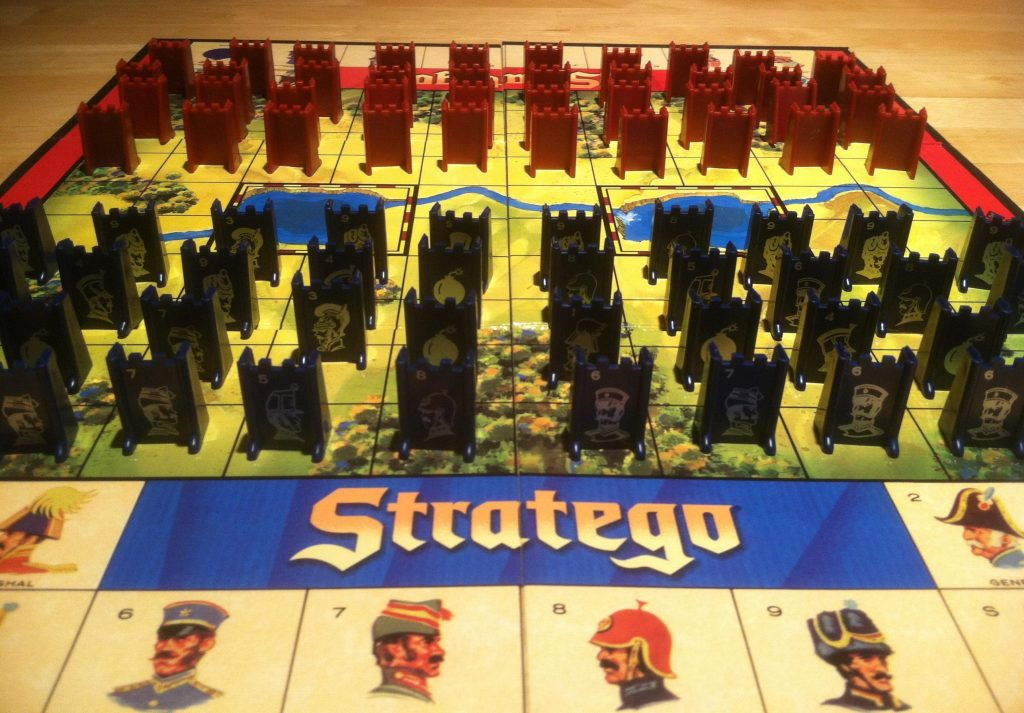 Eric Lang's first love: Stratego